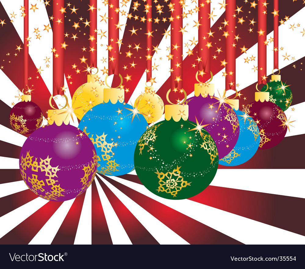 Christmas party theme vector | Price: 1 Credit (USD $1)