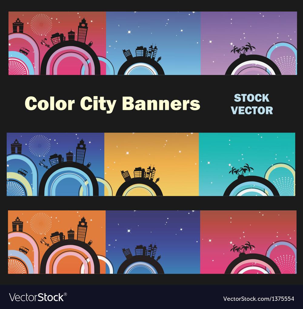 City theme vector | Price: 1 Credit (USD $1)