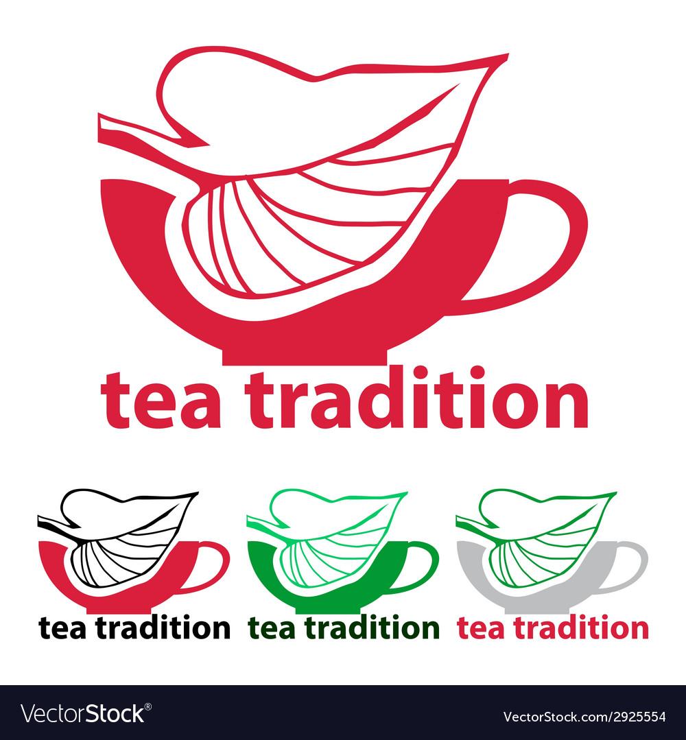 Tea tradition vector | Price: 1 Credit (USD $1)