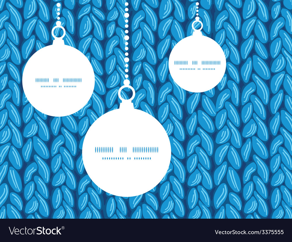 Knit sewater fabric horizontal texture christmas vector | Price: 1 Credit (USD $1)