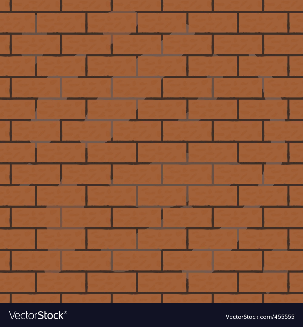 Seamless background of brick wall vector | Price: 1 Credit (USD $1)