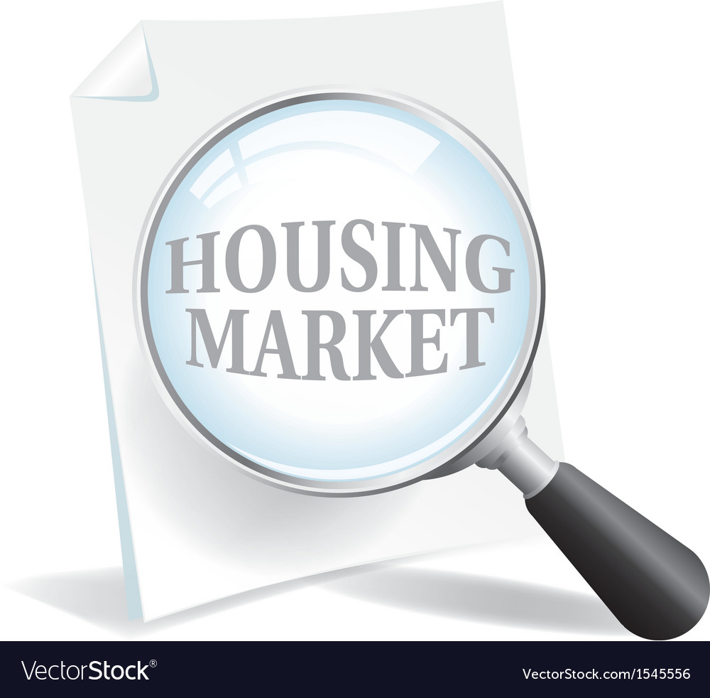Housing market vector | Price: 1 Credit (USD $1)