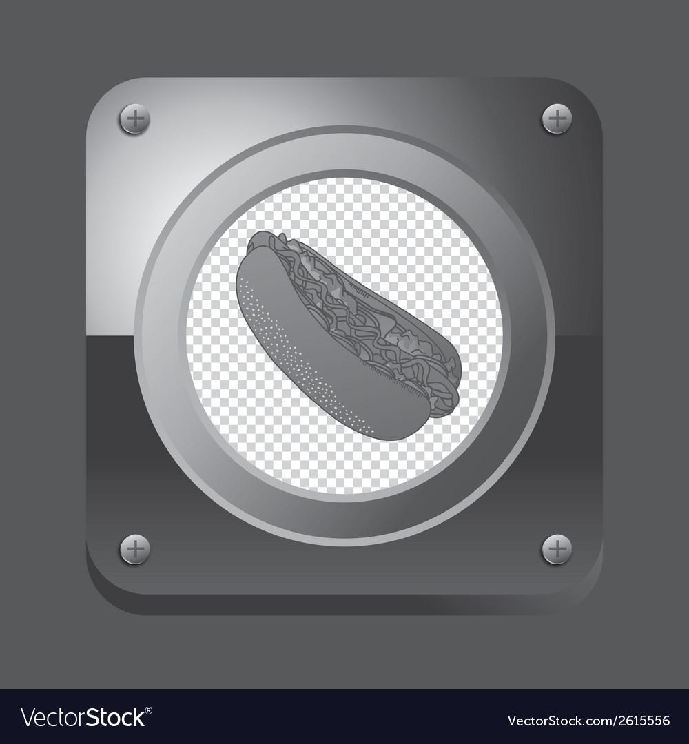 Junk food icon vector   Price: 1 Credit (USD $1)