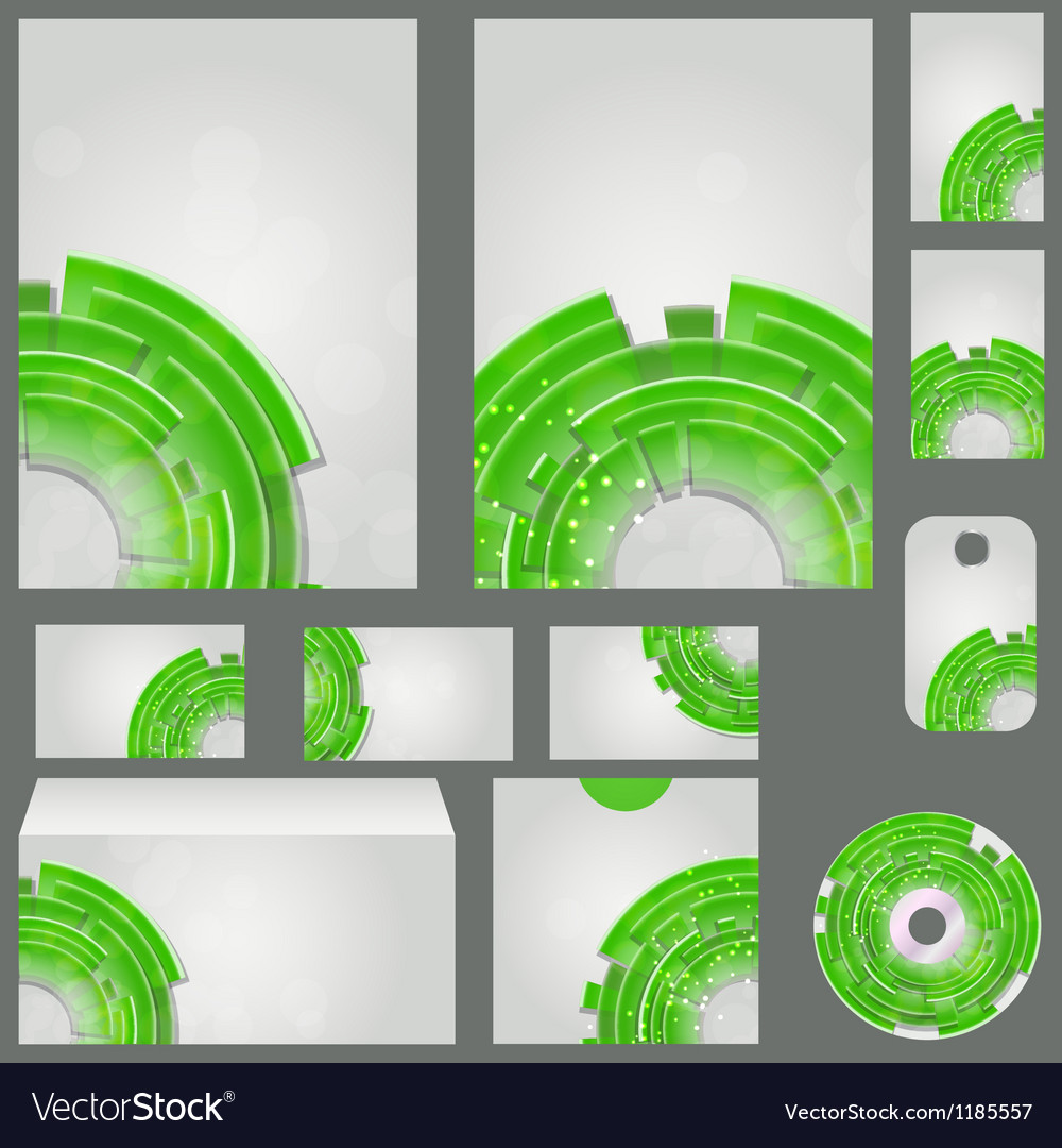 Beautiful template for business design folder vector | Price: 1 Credit (USD $1)