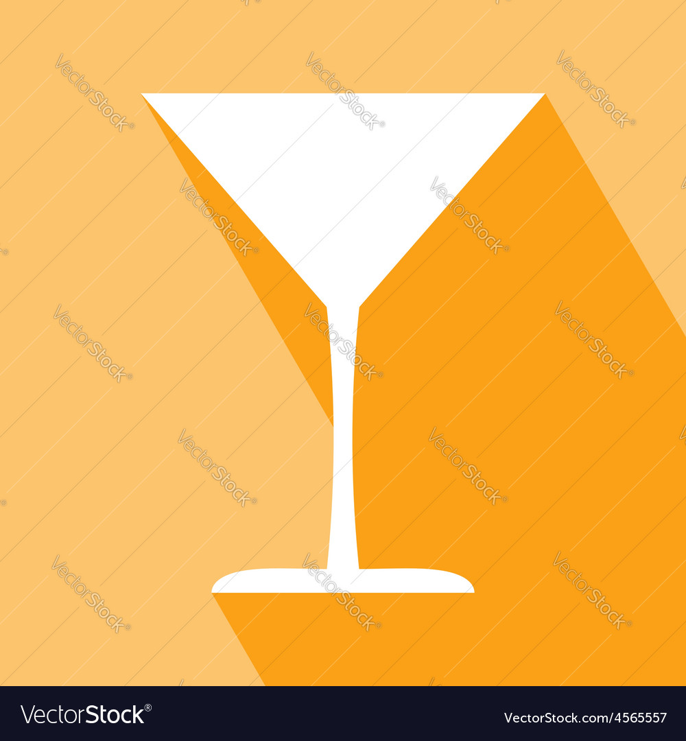 Cocktail glass icon vector | Price: 1 Credit (USD $1)