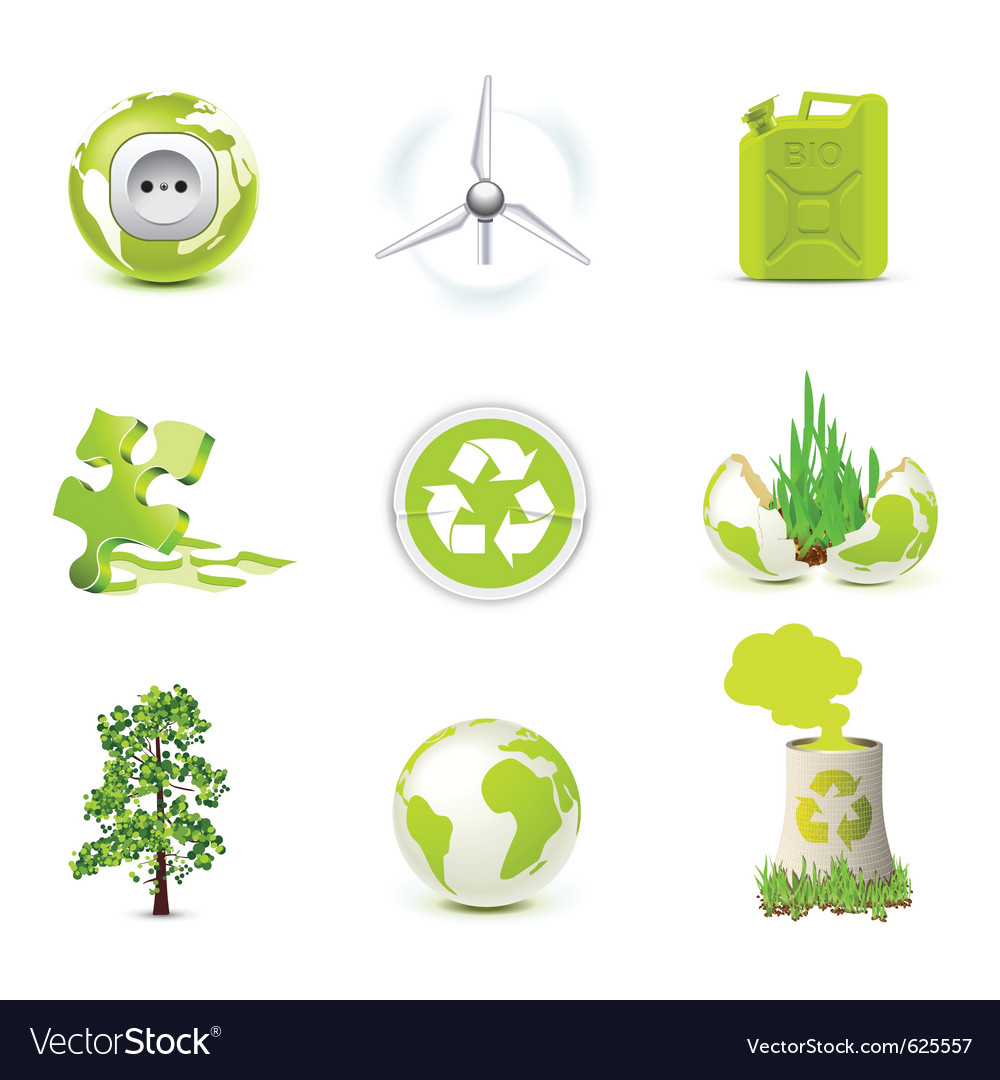 Environmental icons - bella series vector | Price: 3 Credit (USD $3)