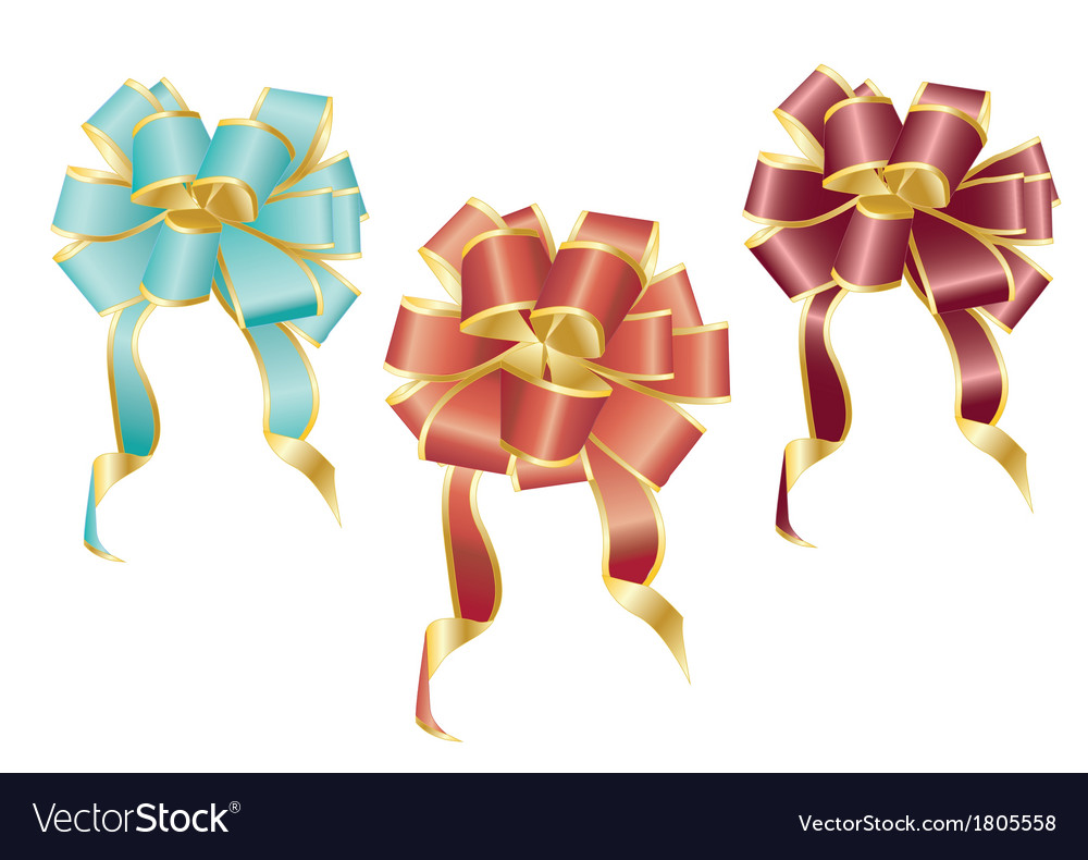 Colorful bows vector | Price: 1 Credit (USD $1)
