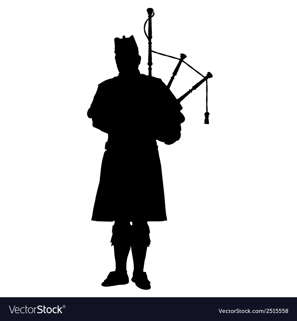 Scottish piper vector | Price: 1 Credit (USD $1)