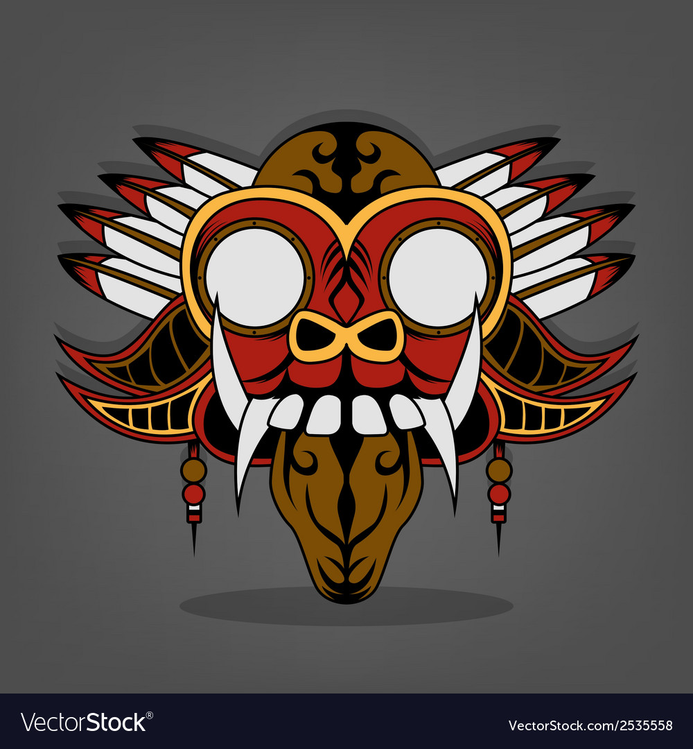 Steampunk barong bali vector | Price: 1 Credit (USD $1)