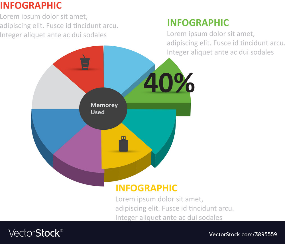 Infographic 338 vector | Price: 1 Credit (USD $1)