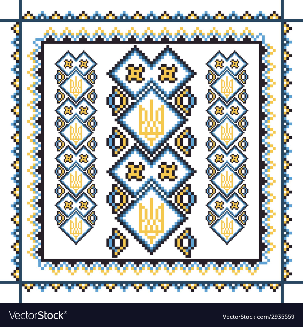 Set of seamless ornamented borders based on vector | Price: 1 Credit (USD $1)