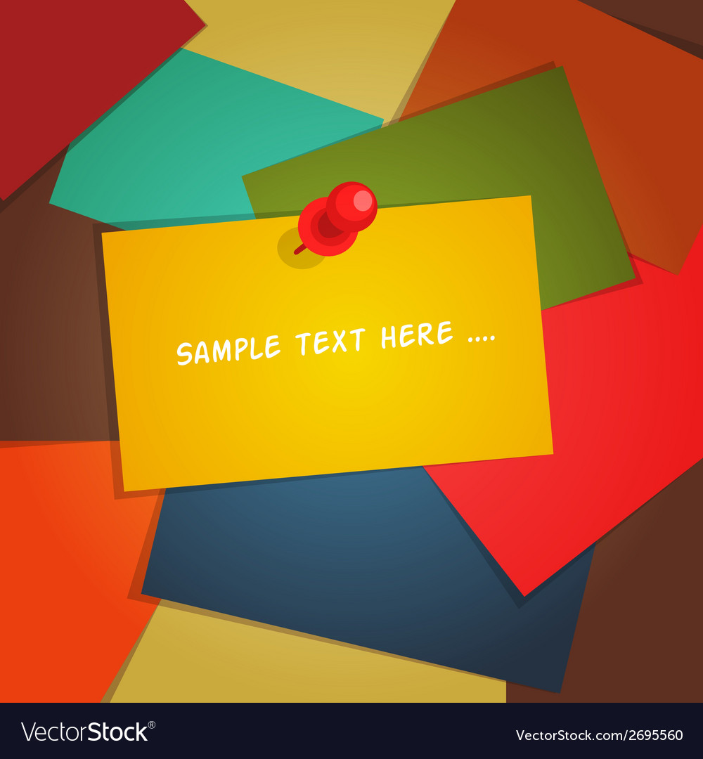 Paper card background vector | Price: 1 Credit (USD $1)