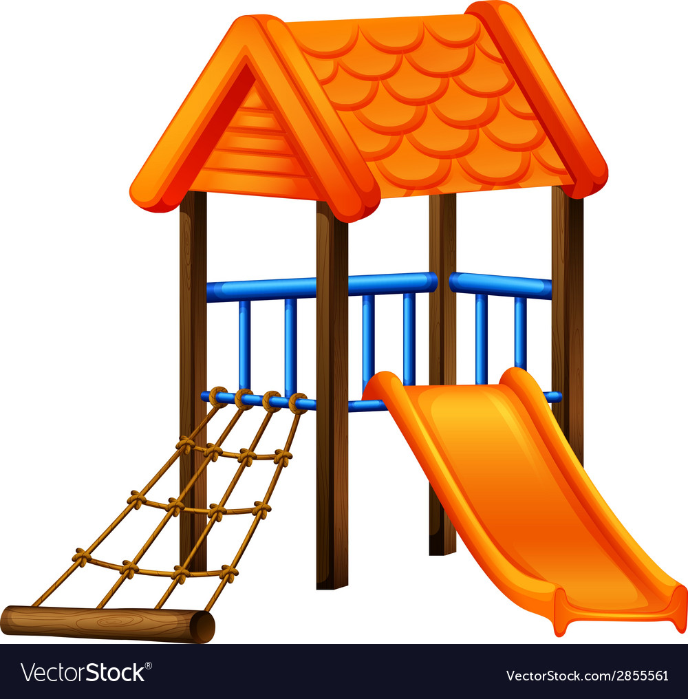 A play area at the park vector | Price: 1 Credit (USD $1)