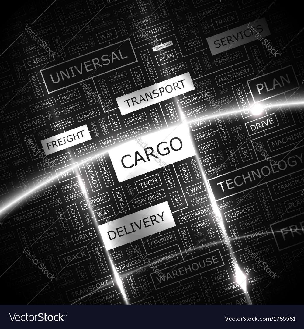 Cargo vector | Price: 1 Credit (USD $1)
