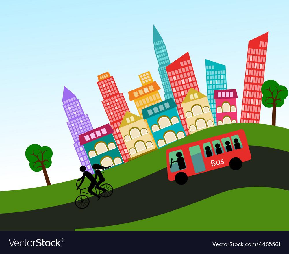 City vector | Price: 1 Credit (USD $1)