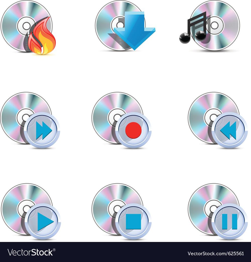 Media symbols vector   Price: 3 Credit (USD $3)