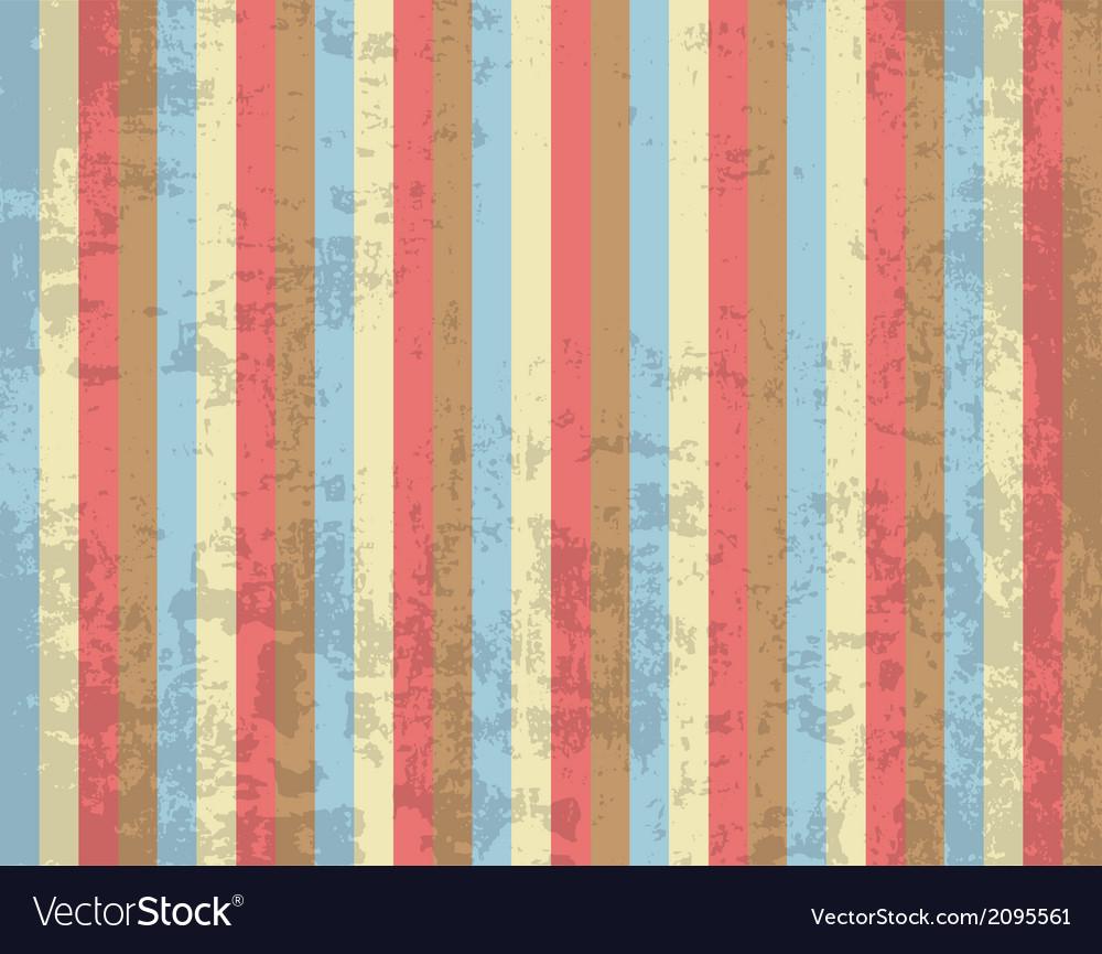 Retro striped background vector   Price: 1 Credit (USD $1)