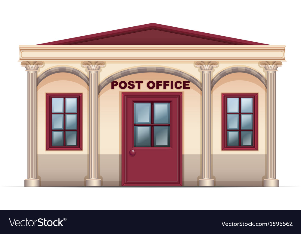 A post office vector | Price: 1 Credit (USD $1)
