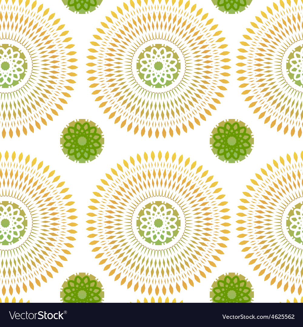 Seamless patern with ethnic ornament vector   Price: 1 Credit (USD $1)