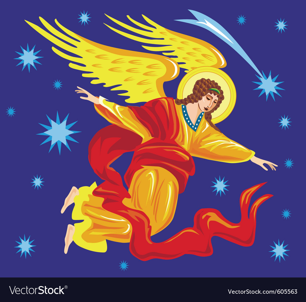 Angel vector | Price: 1 Credit (USD $1)