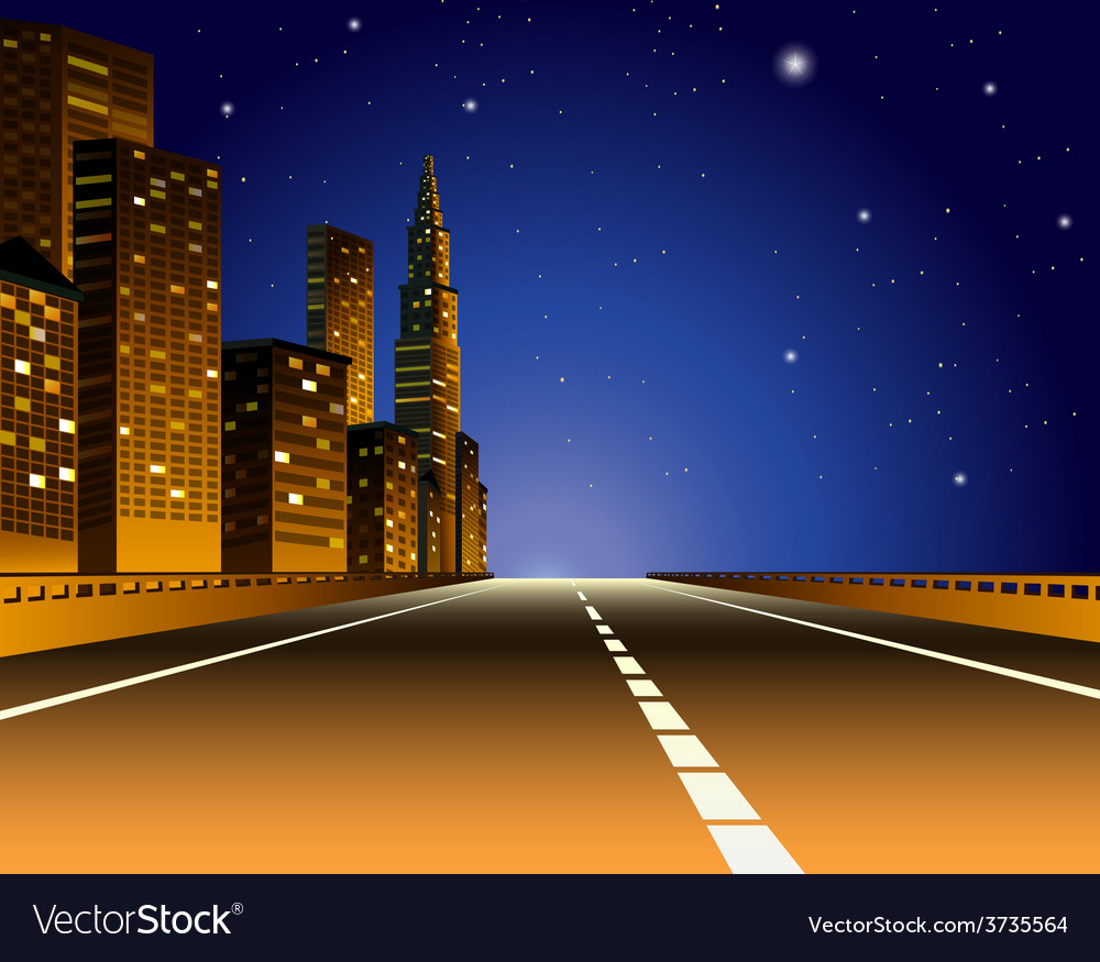 Express way vector | Price: 1 Credit (USD $1)