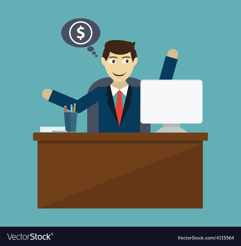 Money making vector | Price: 1 Credit (USD $1)
