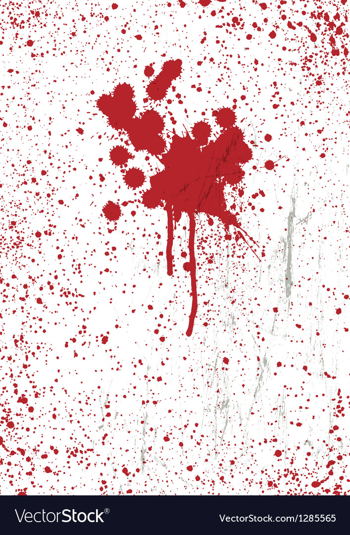 Blood stains on scratched texture background vector | Price: 1 Credit (USD $1)