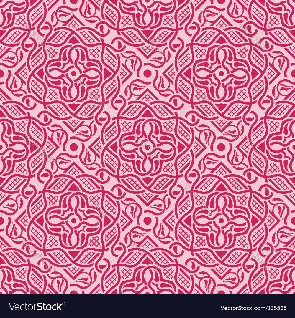 Floral seamless ornament vector   Price: 1 Credit (USD $1)
