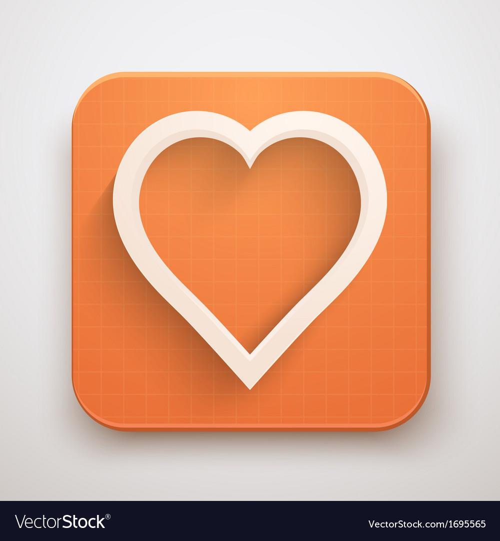 Heart icon premium vector | Price: 1 Credit (USD $1)