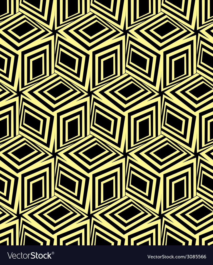 3d boxes seamless pattern vector | Price: 1 Credit (USD $1)