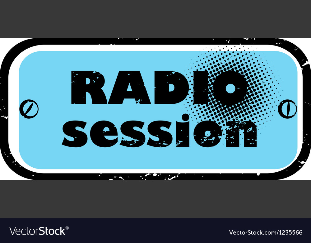 Radio session vector | Price: 1 Credit (USD $1)