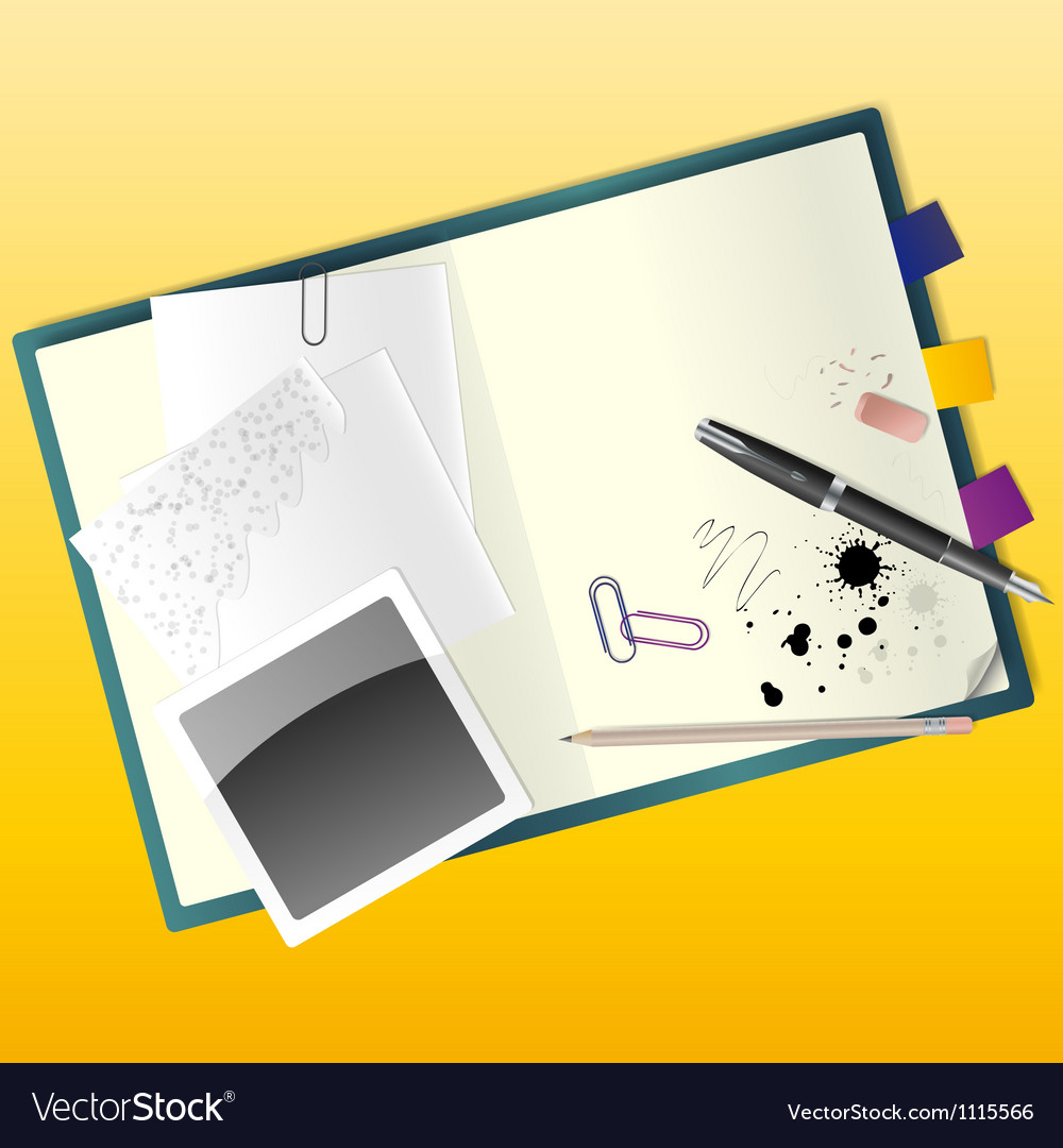 Sketchbook vector | Price: 1 Credit (USD $1)