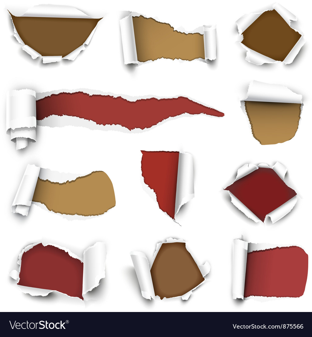 Torn paper vector | Price: 1 Credit (USD $1)