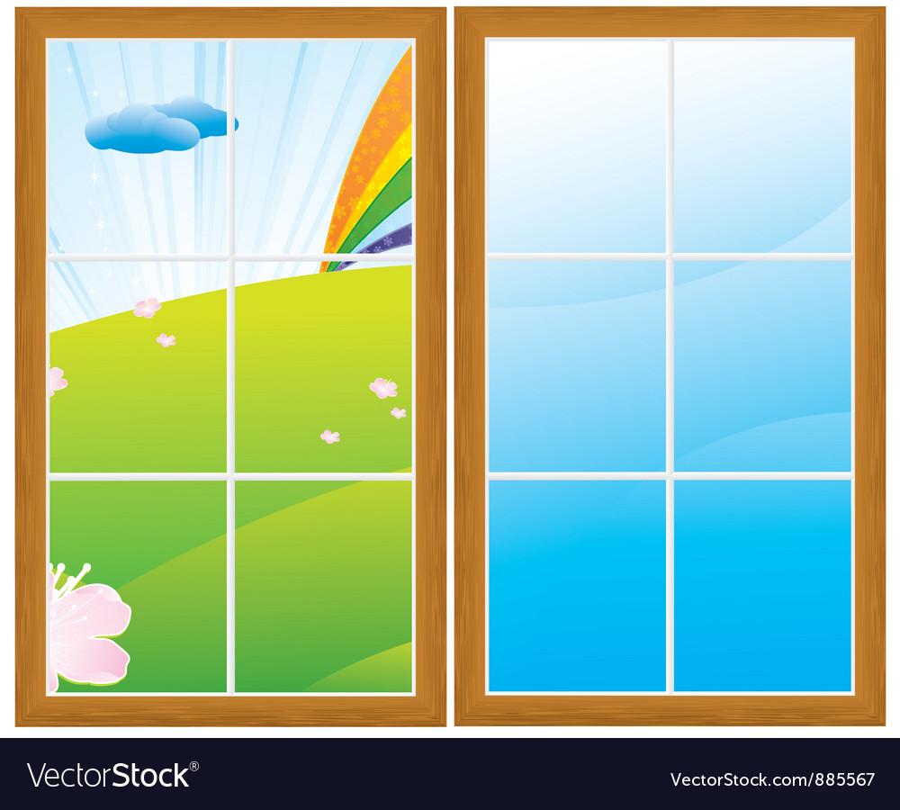 Field window vector   Price: 1 Credit (USD $1)