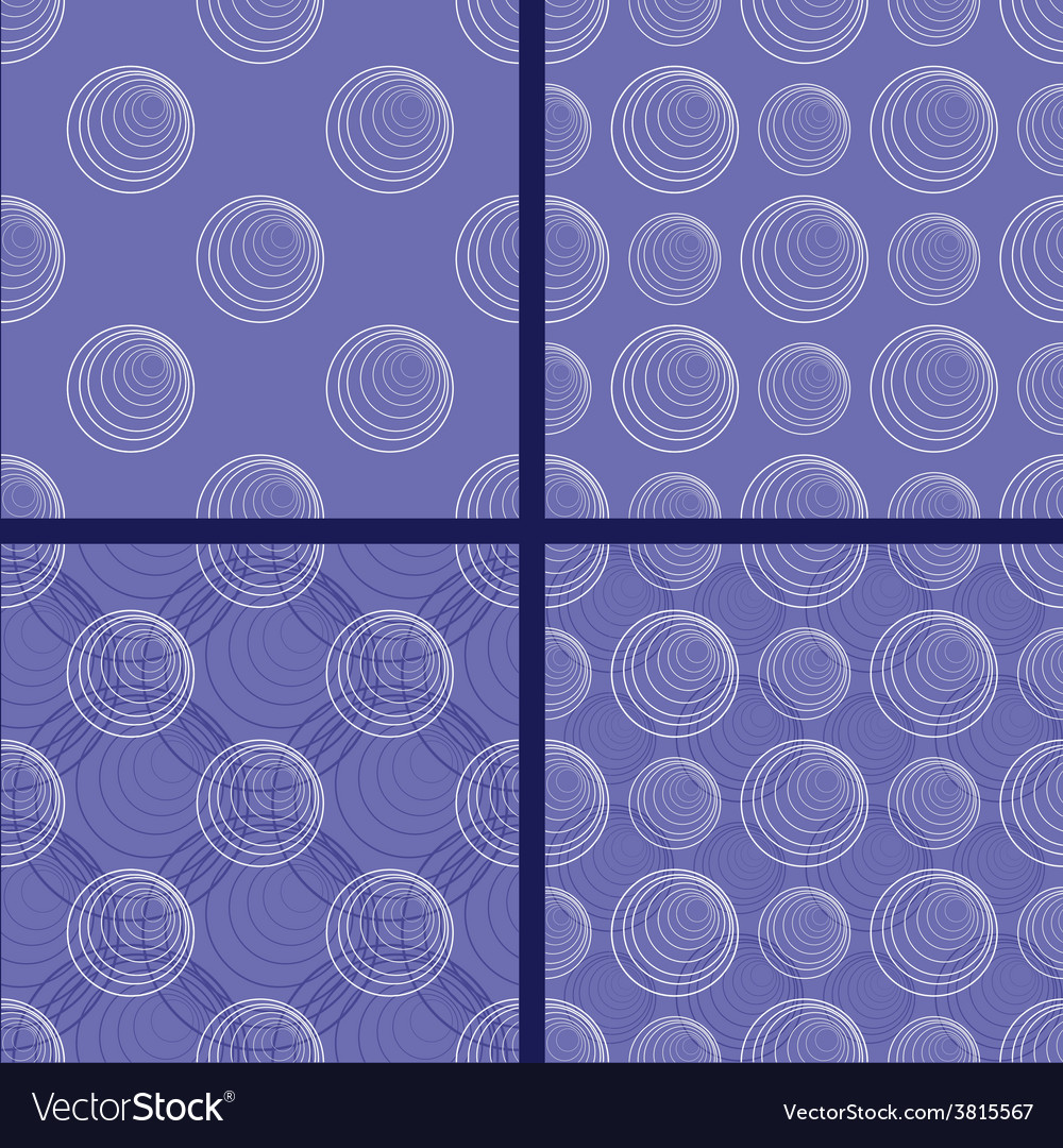 Patterns with circles vector | Price: 1 Credit (USD $1)