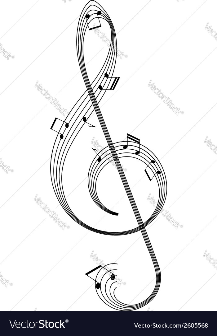 Abstract clef vector | Price: 1 Credit (USD $1)
