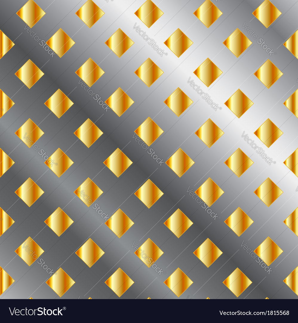 Background with metallic squares vector | Price: 1 Credit (USD $1)