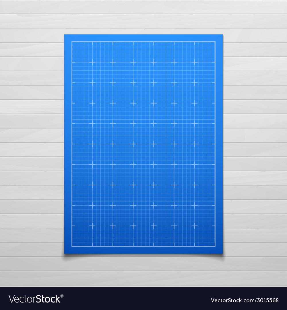 Blue isolated square grid with shadow isolated on vector | Price: 1 Credit (USD $1)