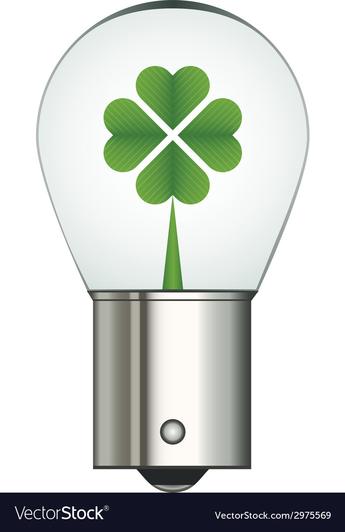 Bayonet car eco bulb vector | Price: 1 Credit (USD $1)