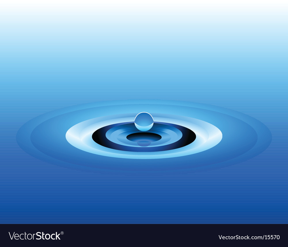 Abstract water design vector | Price: 1 Credit (USD $1)