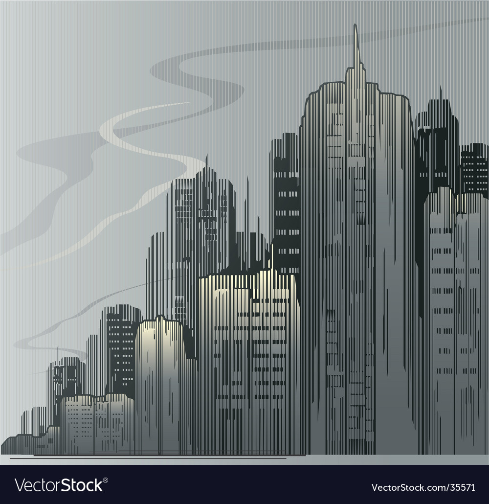 City urban vector | Price: 1 Credit (USD $1)