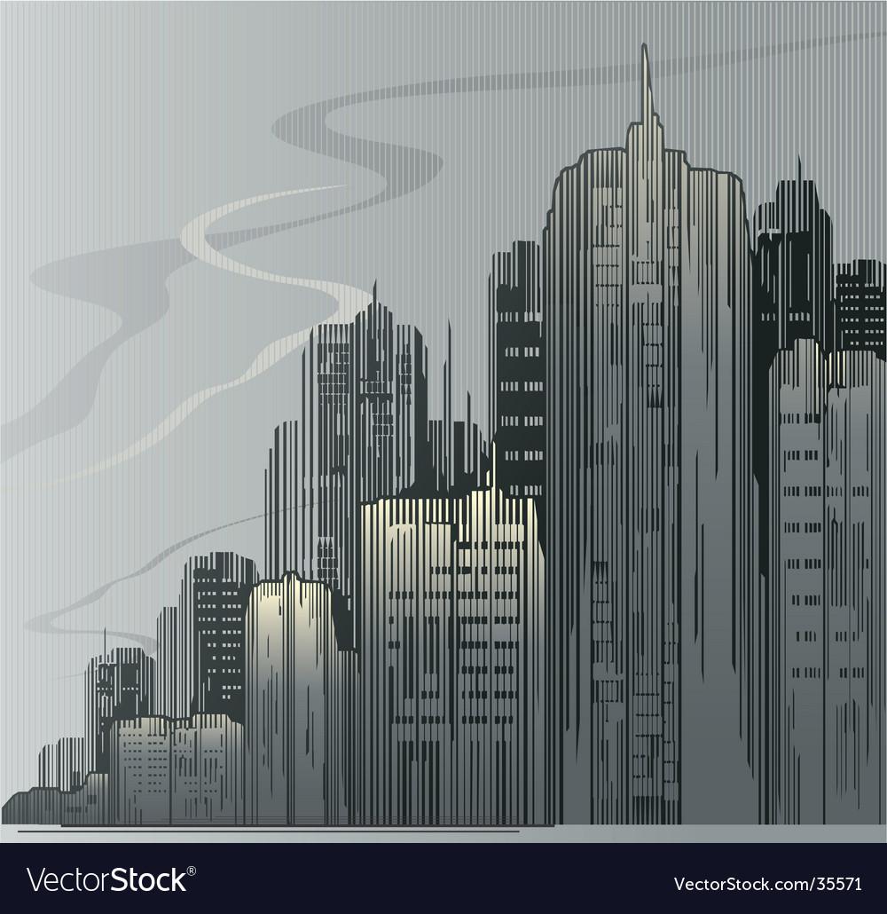 City urban vector | Price: 1 Credit (USD $1)