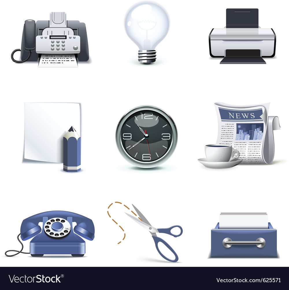 Office icons - bella series vector | Price: 3 Credit (USD $3)