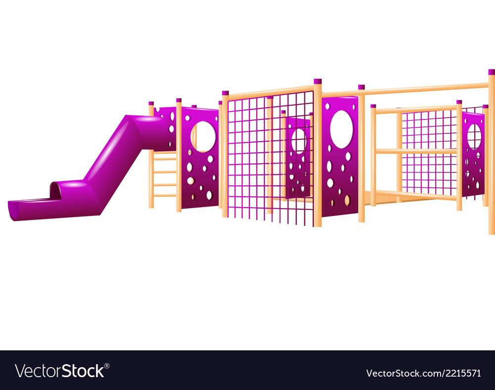 School playground vector | Price: 1 Credit (USD $1)