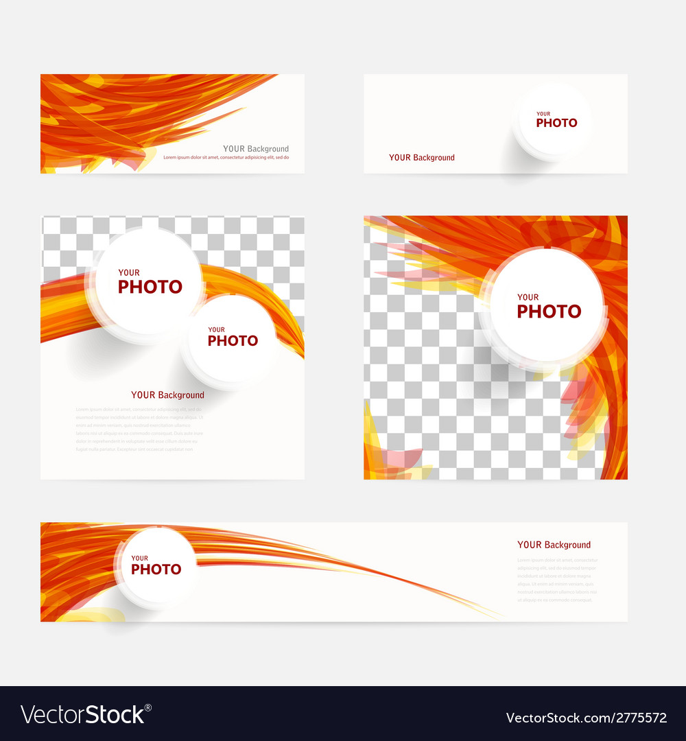 Brochure with circles and wave vector | Price: 1 Credit (USD $1)
