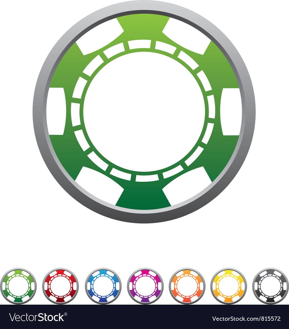 Poker chips set vector | Price: 1 Credit (USD $1)
