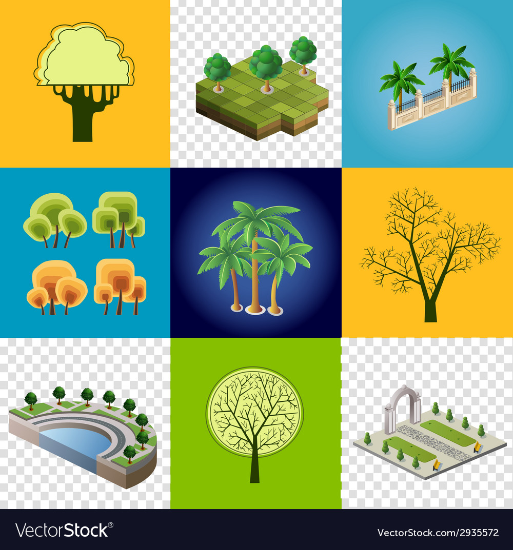 Set of images vector | Price: 1 Credit (USD $1)