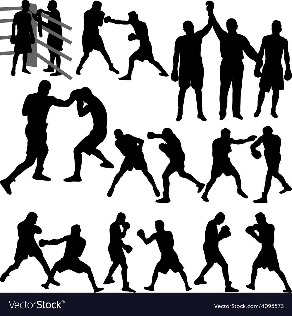 Boxing match vector   Price: 1 Credit (USD $1)