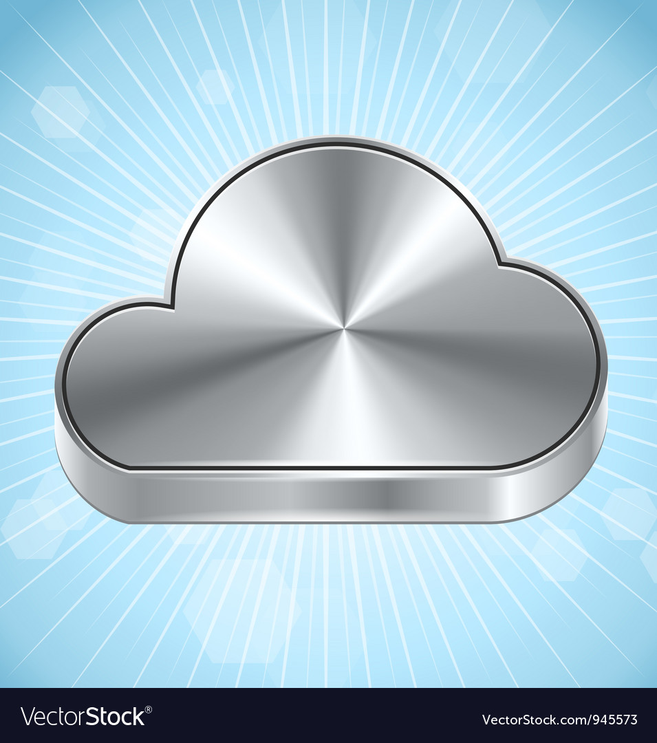 Cloud computing icon vector | Price: 3 Credit (USD $3)