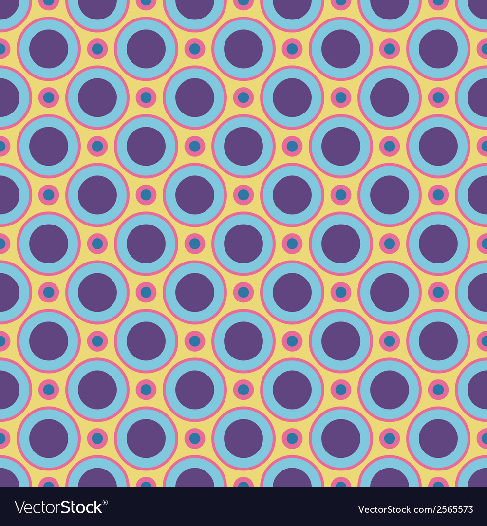 Colorful crazy seamless patterns tiling vector | Price: 1 Credit (USD $1)